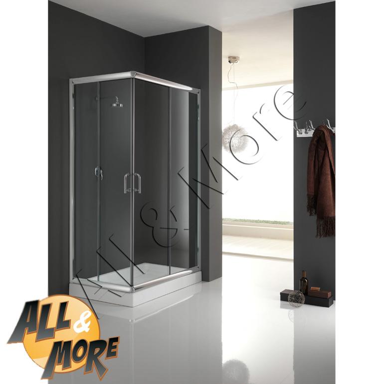 All cabina box doccia rettangolare trasparente - Altezza box doccia ...